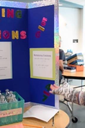 Sixth-Graders At Pierre Van Cortlandt MS In Croton Organize Fraction Fair
