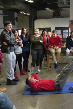 Former Nets Trainer Visits Tech Sports Medicine Class in Yorktown