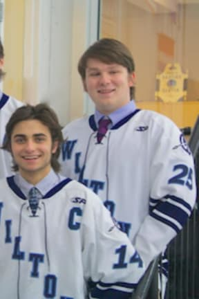 Wilton High School Boys Varsity Hockey Team To Celebrate Senior Night