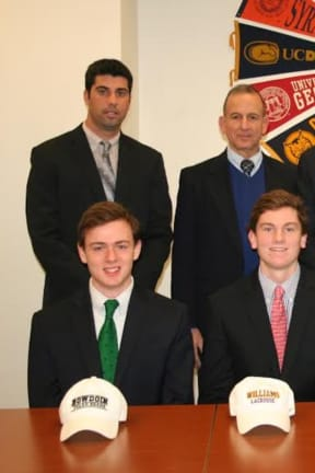 Fairfield Prep Lacrosse Players Make College Commitments