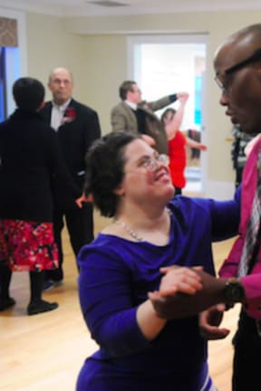 Abilis Hosts Special Valentine's Day Dance In Greenwich