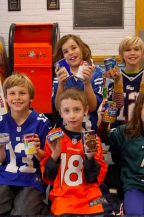 Students Collect 620 Food Cans For Cortlandt Food Bank