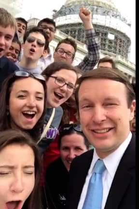 Sen. Chris Murphy Of Connecticut Emerges As Possible Clinton VP Pick