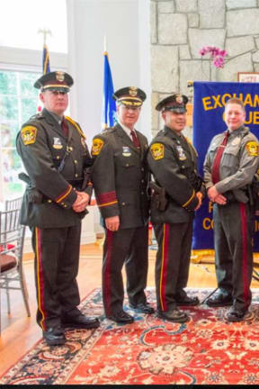 Ridgefield Police Department Honors Its Officer Of The Year