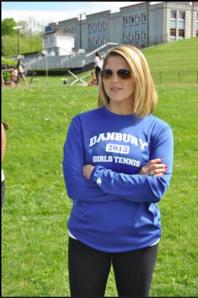 Danbury High Girls Tennis Team Honored With FCIAC Sportsmanship Award