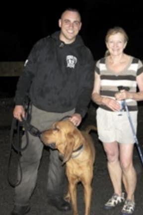 New K-9 Bloodhound Helps Rescue Hiker In Patterson