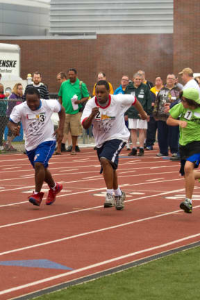 Special Olympics Athletes Competing At Southern Time Trials In Weston