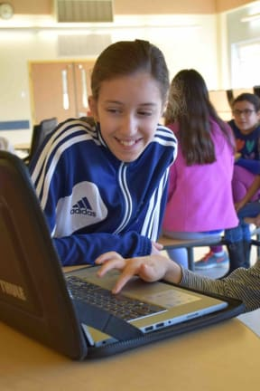 Briarcliff Students Code Digital Stories For Younger Peers