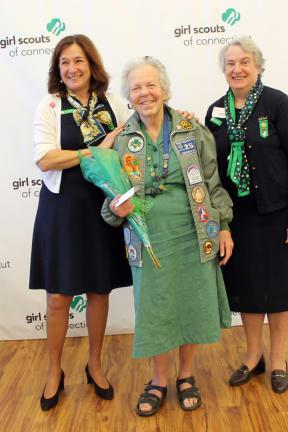 Girl Scouts Honor Norwalk Woman For 65 Years Of Volunteer Service