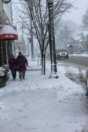 How Much Snow Fell Near Greenwich? Check Out Totals From The Storm