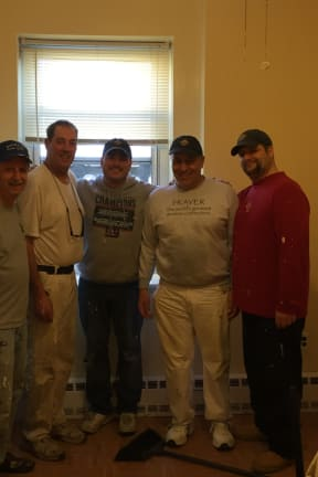 Norwalk Knights Of Columbus Bring Paint Brushes, Smiles To Malta House