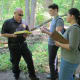 New Rochelle Students Take To The Woods For Forensic Science Class