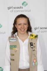Redding Girl Scout Earns Gold Award For Ceramic Art Project