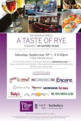 Julia B. Fee Sotheby's Intl. Realty, My Sisters' Place Host Taste Of Rye