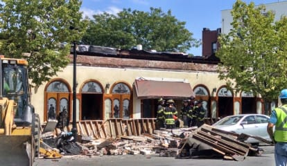 Roof Collapses At Larchmont's Tequila Sunrise