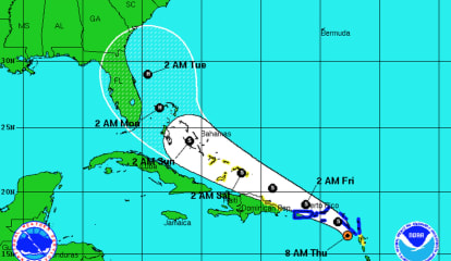 Tropical Storm Erika Closing In On Atlantic Coast