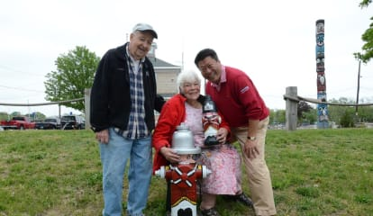 Community Volunteers Join In Fairfield Fire Hydrant Painting Project