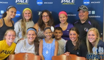 Pace Women's Soccer Welcomes Newest Teammate Through Team IMPACT