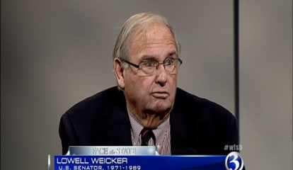 Former Gov. Lowell Weicker Calls Donald Trump A 'Total Con Artist'