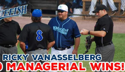 Bridgeport Bluefish Manager Earns 500th Career Win
