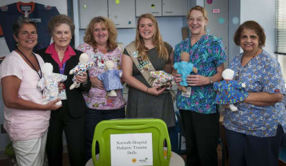 Girl Scout Presents Trauma Dolls To Norwalk Hospital To Earn Gold Award