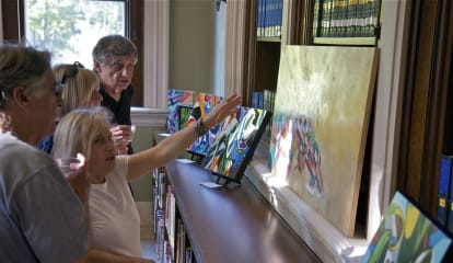Artists Put Their Work In The Spotlight At Ridgefield's Art Walk