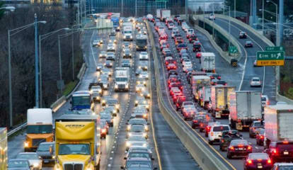 New York Roads Rank Among Country's Worst For Traffic