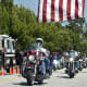 Motorcyclists Riding Through Westport Raising Money To Honor 9/11 Victims
