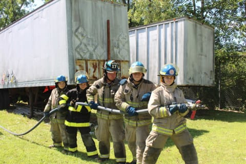 Lake Carmel Junior Firefighters Take Part In Youth Day Activities