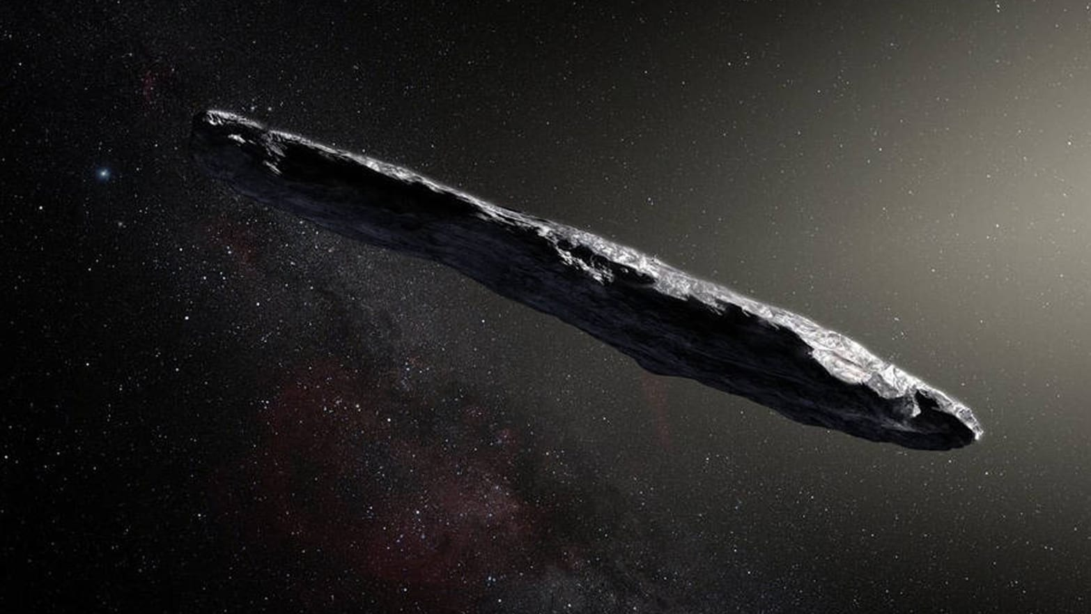 oumuamua artist rendition abraham avi loeb shmuel bialy paul sutter astrphysics comet asteroid solar radiation pressure