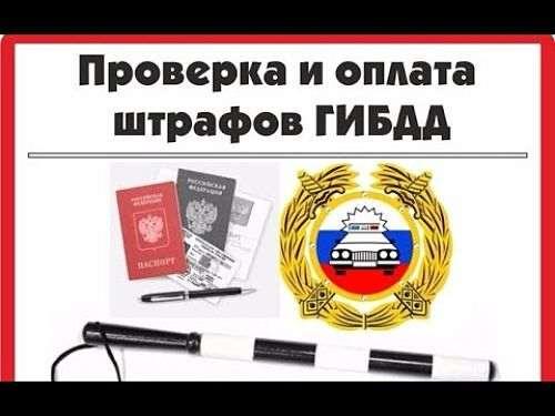 Проверка штрафов гибдд онлайн по номеру водительского удостоверения