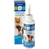 Image of Bayer Nettoyant Solution Auriculaire Fl/100Ml - Bayer Healthcare Animal Health