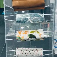 Image of Ecrans en Tissu/ Masque Réutilisable à l'Unité - Delatex