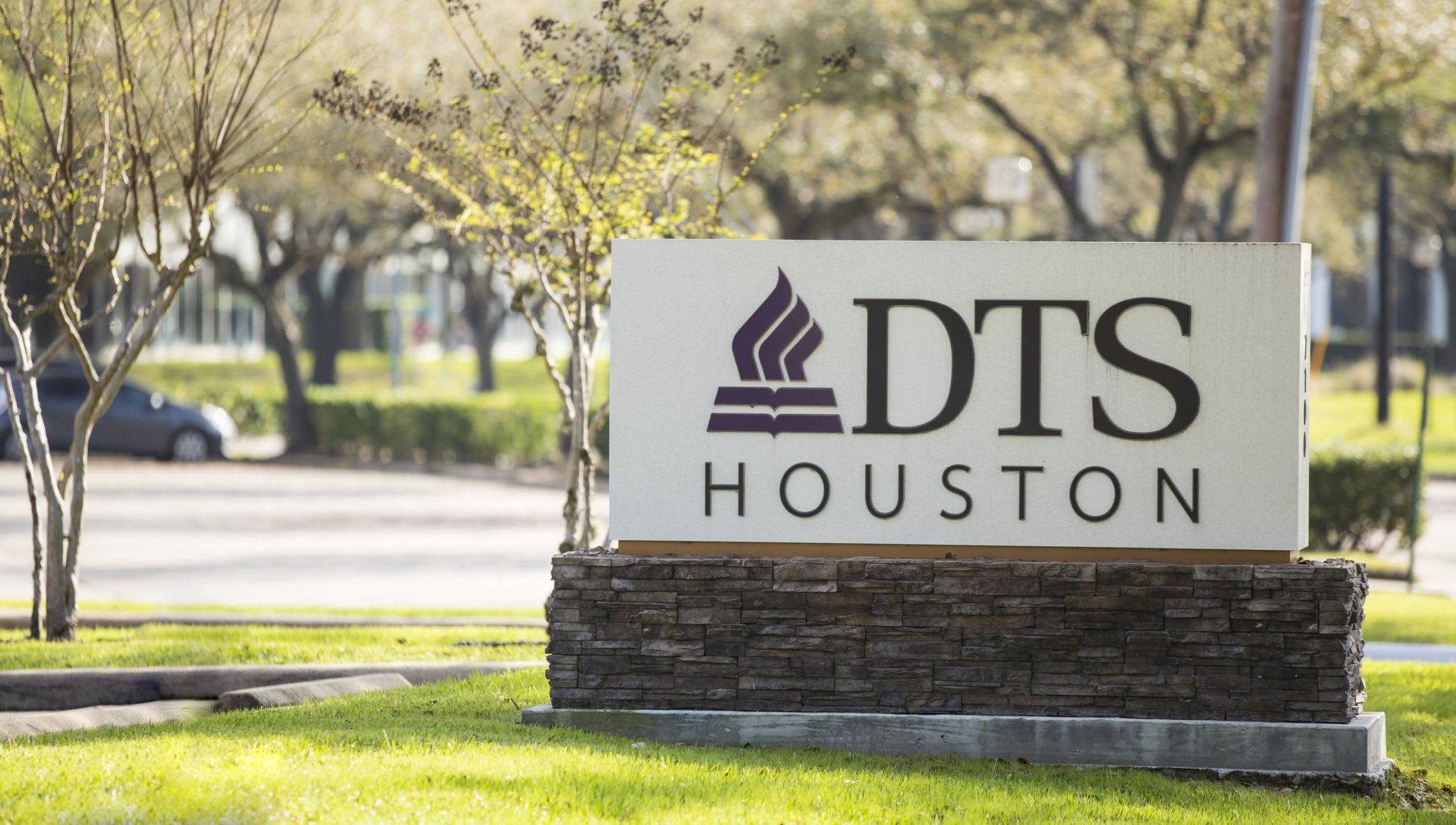 DTS Houston sign