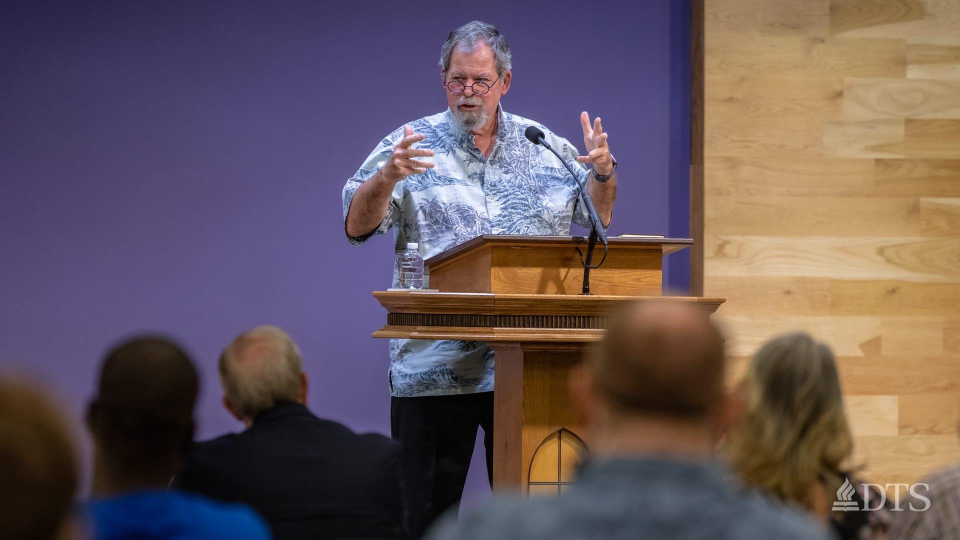 Dr. Daniel Wallace, senior research professor of New Testament Studies at DTS