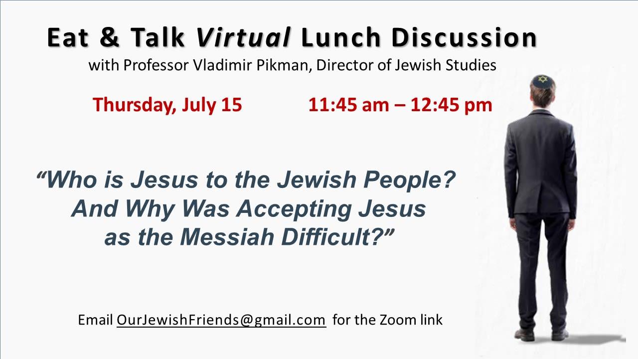 2021.07.15 Jewish Studies Virtual Discussion