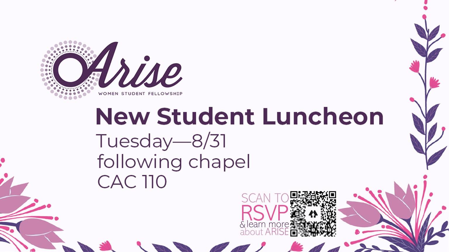 2021.08.31 Arise Luncheon