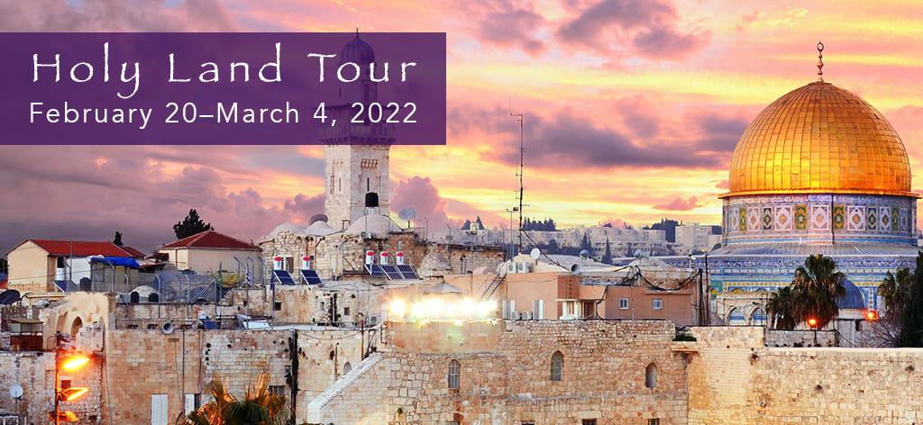 2022 Holy Land Tour logo