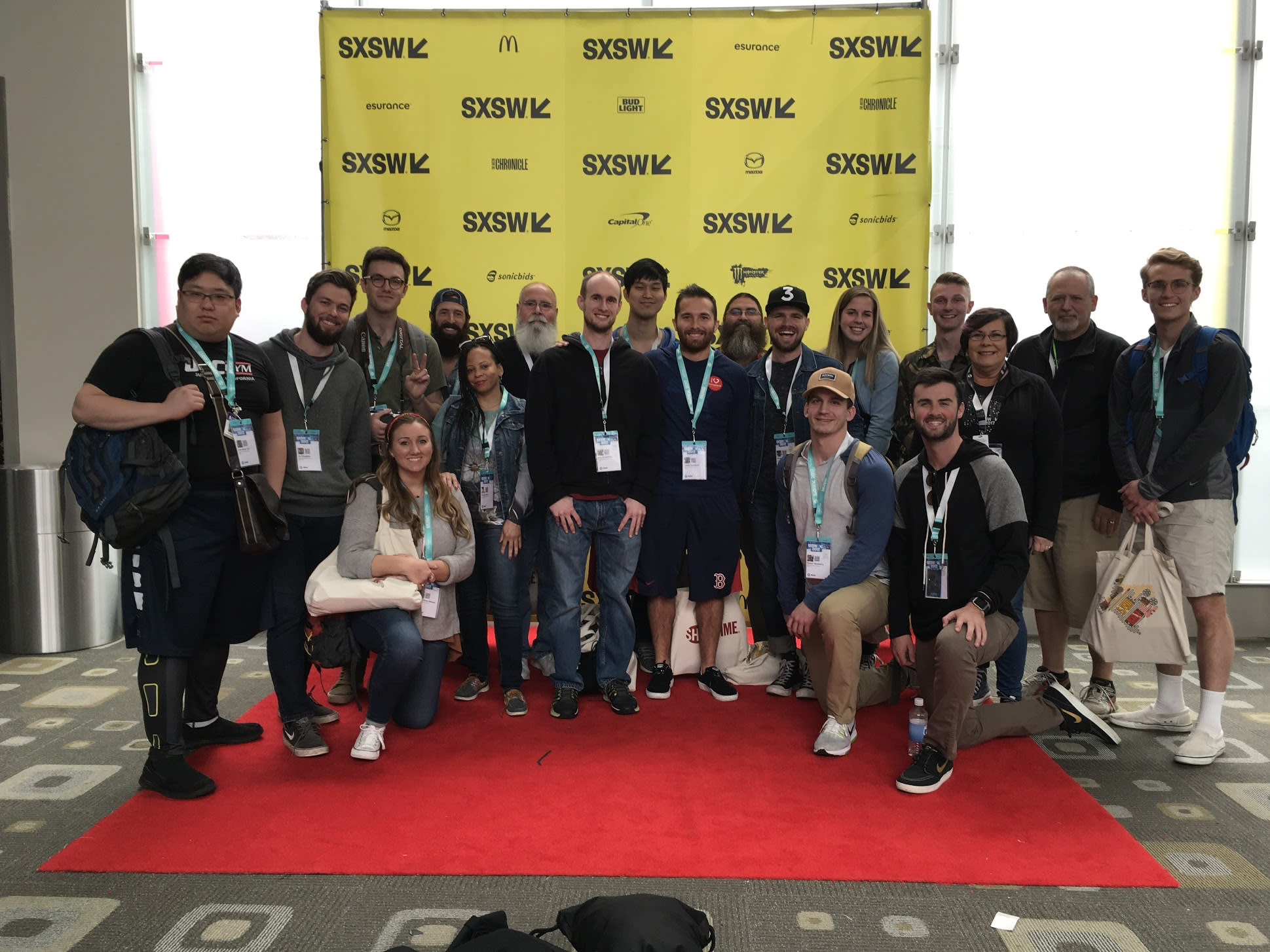 Media Arts class as the South by Southwest conference