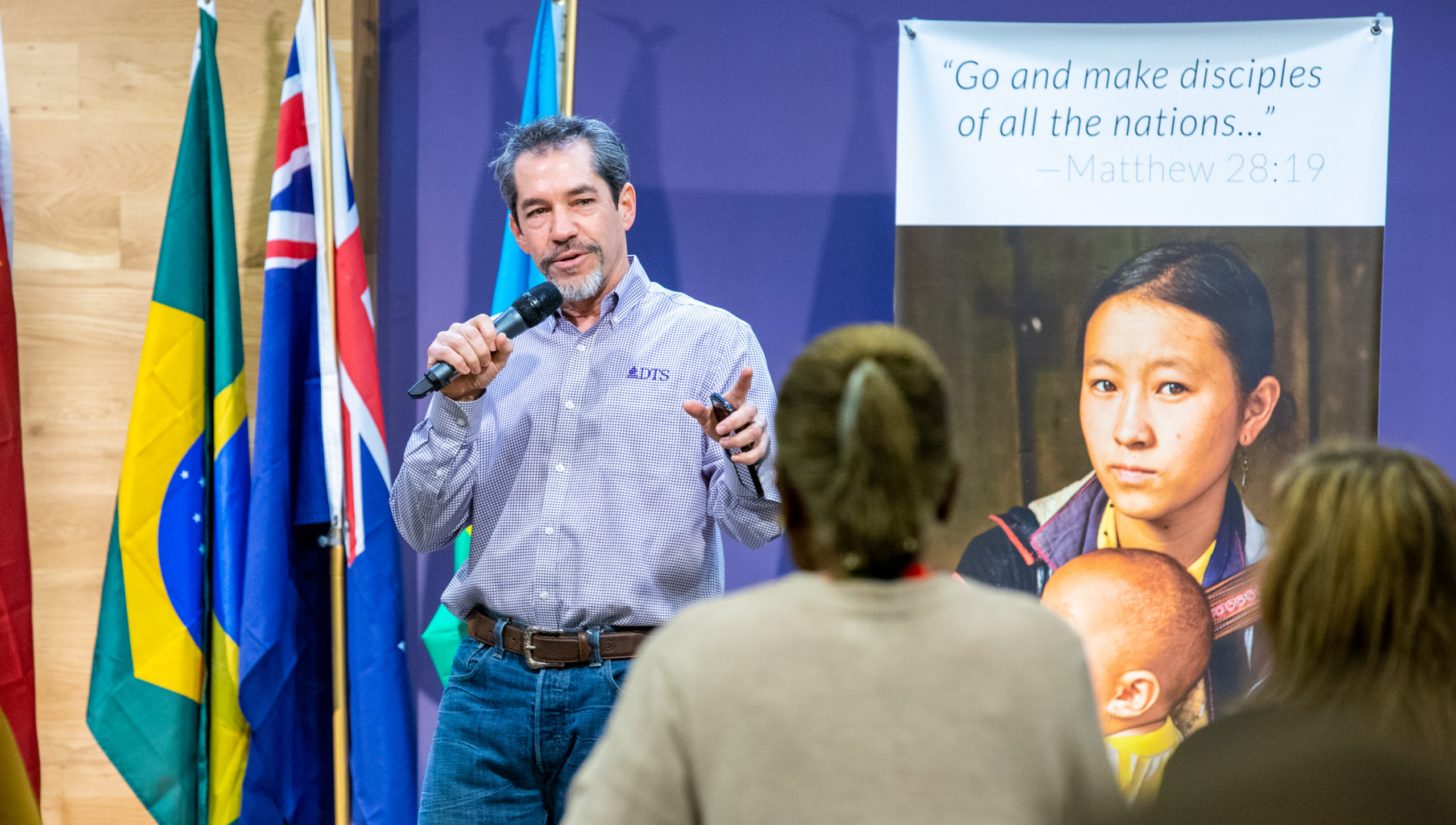 Michael Ortiz teaching a class