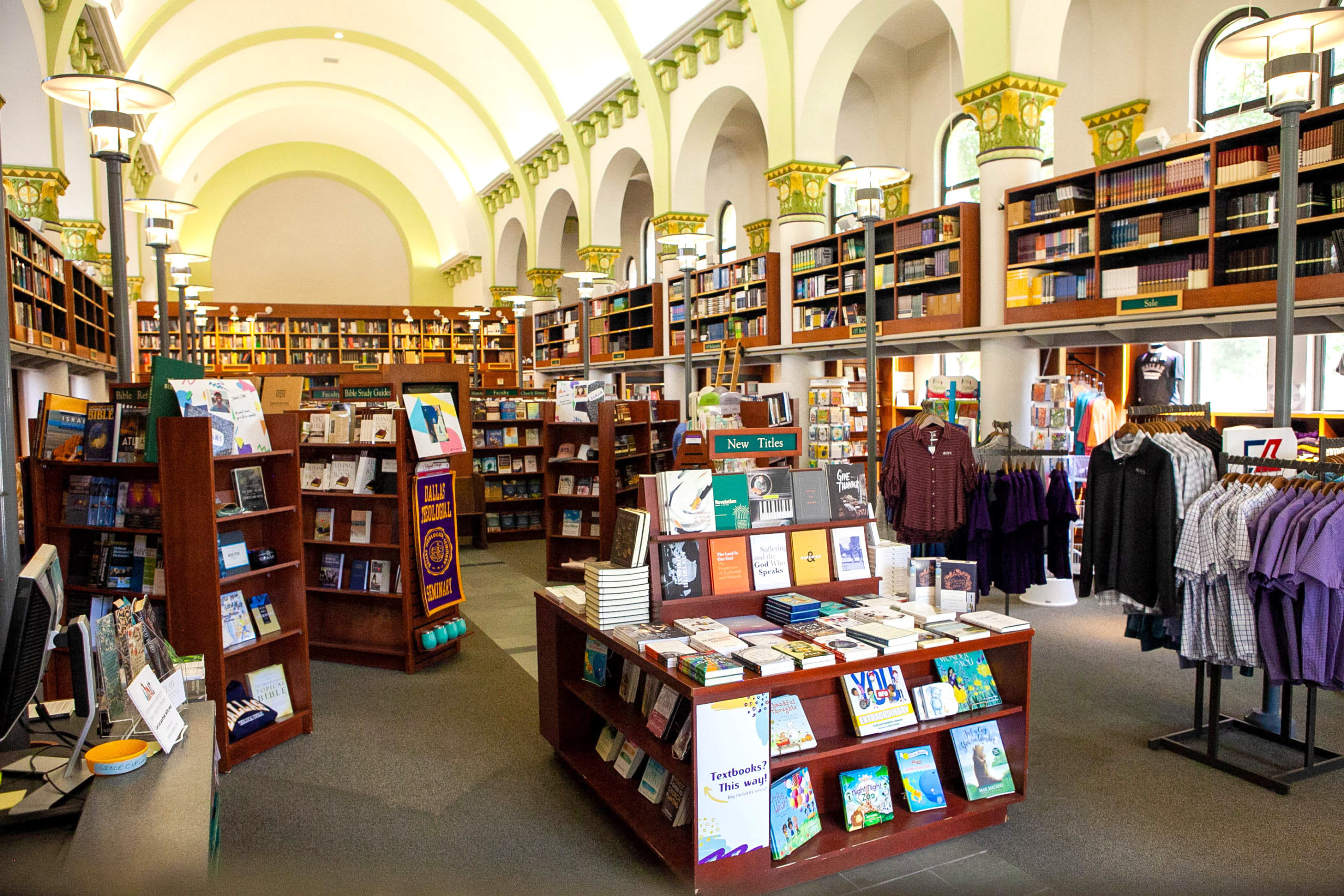 Dallas Theological Seminar bookstore
