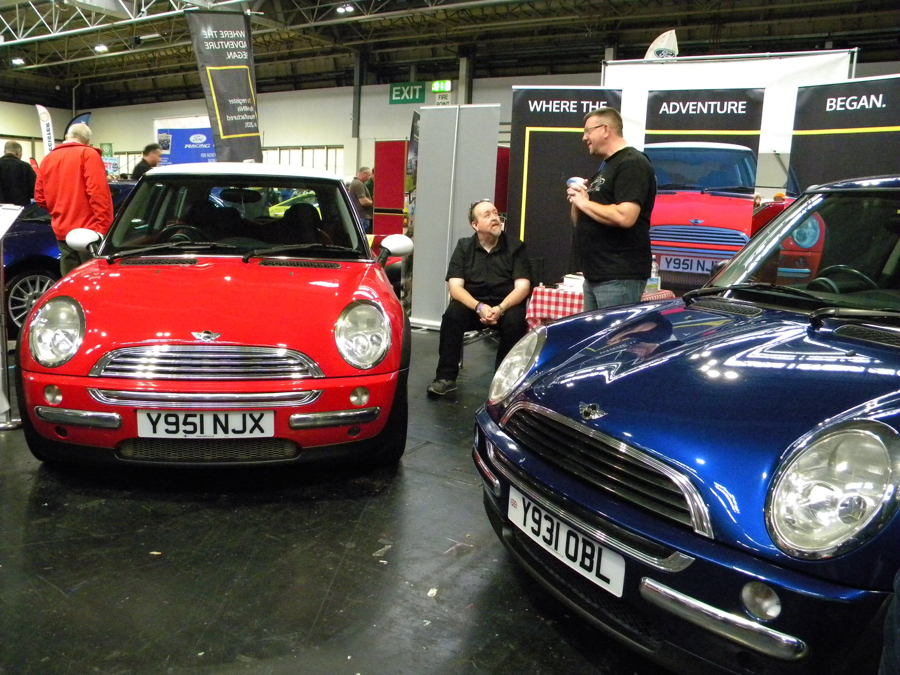 Nec Lancaster Insurance Classic Motor Show Y Register Stand Mini Y