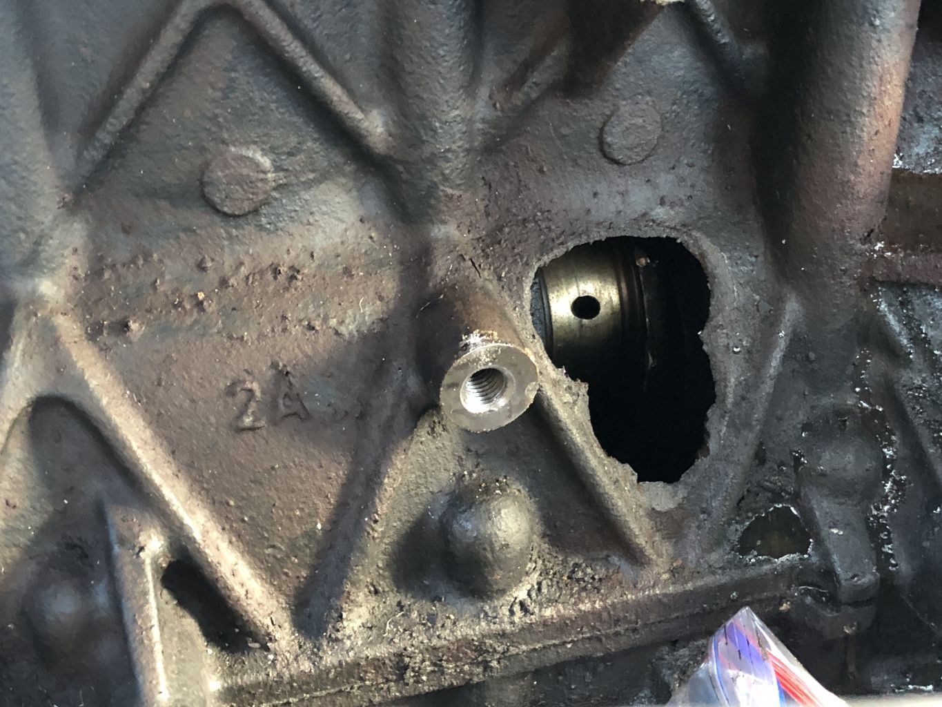 MINI Cooper S R53 Engine Block with Hole from conrod breaking