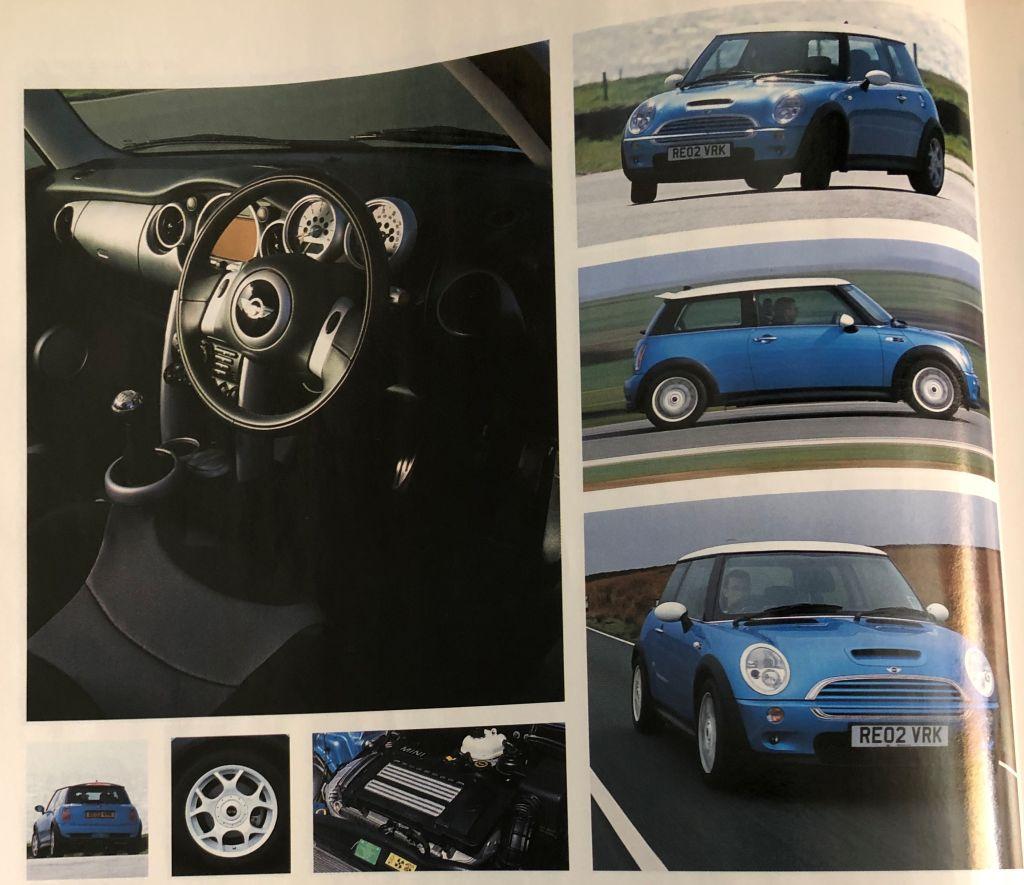 RE02VRK Top Gear Magaizine Press Car MINI Cooper S R53