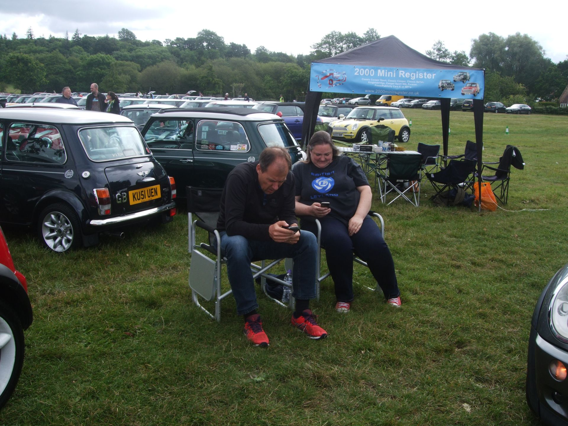 Tanya and Jason Field at Mini Cooper Register's National Mini Day at Beaulieu - 6th June 2019