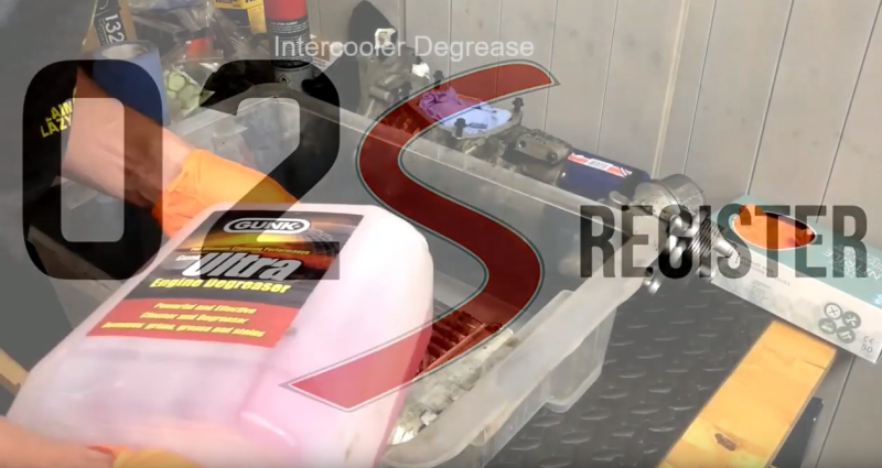 MINI Cooper S R53 Intercooler Degrease | 02 S Register