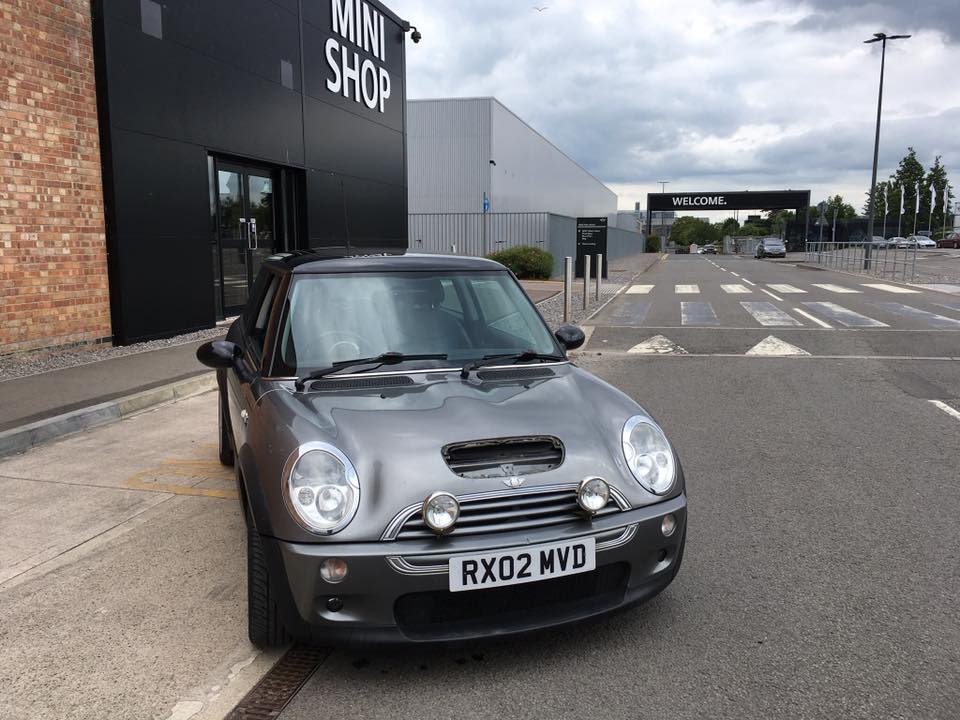 Photo of Grey Y Reg BMW MINI Cooper S R50 Registration Number RX02MVD image 1