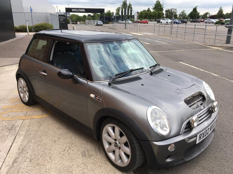 Photo of Grey Y Reg BMW MINI Cooper S R50 Registration Number RX02MVD image 2