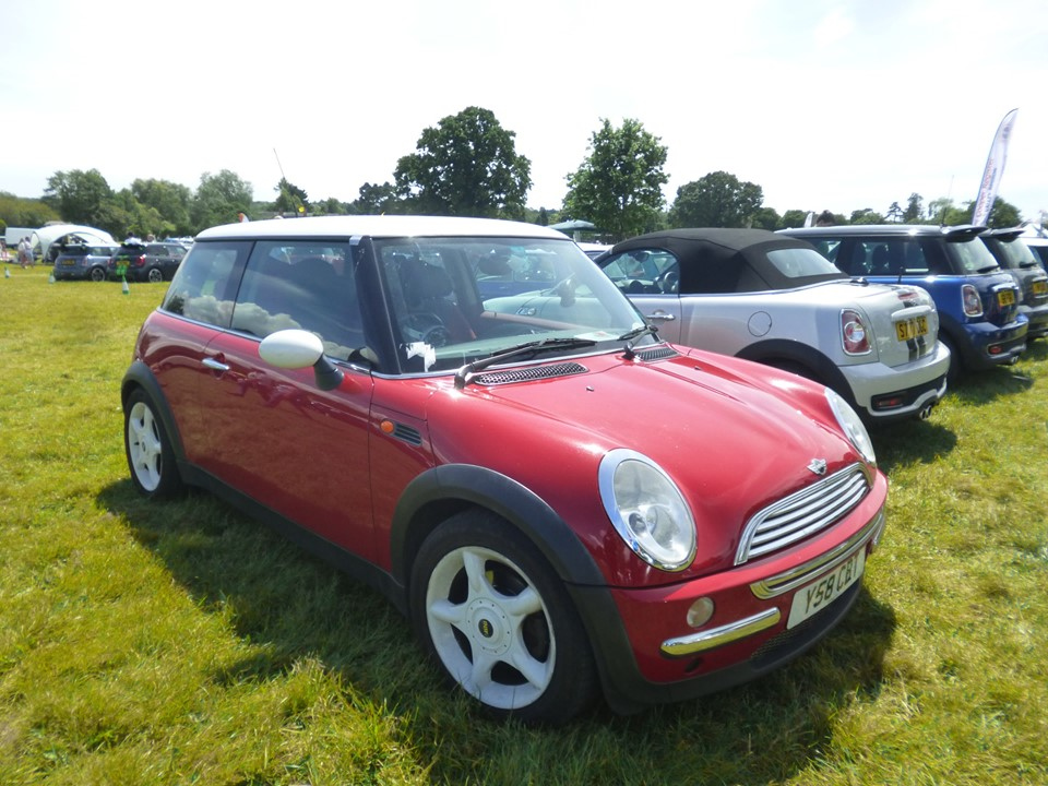 MINI Y58CBT r50 ONE at National Mini Day at Beaulieu show 2019