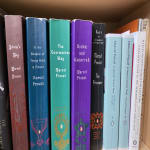 collection of Marcel Proust books on shelf